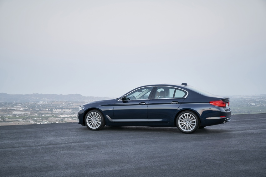 G30 BMW 5 Series unveiled – market debut in Feb 2017 Image #562958