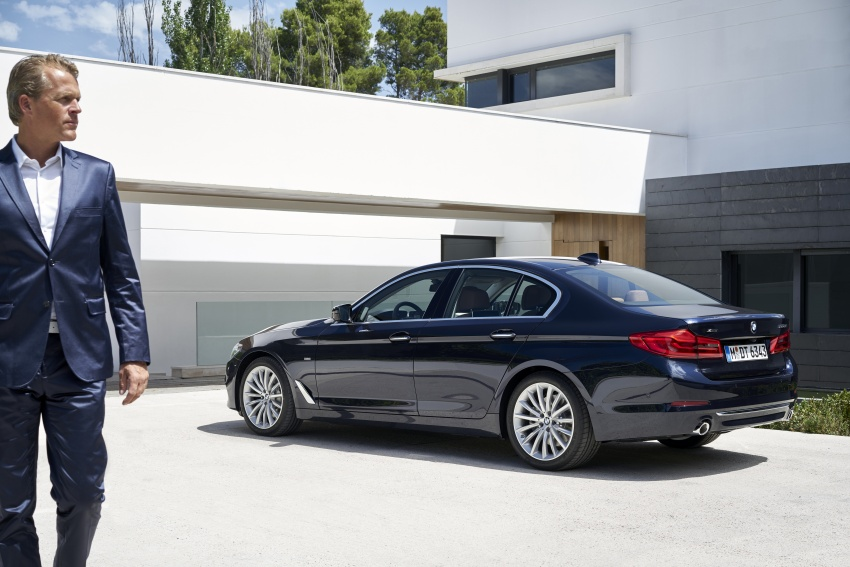 G30 BMW 5 Series unveiled – market debut in Feb 2017 Image #562959