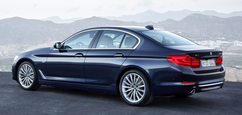 G30 BMW 5 Series unveiled – market debut in Feb 2017 Image #562961