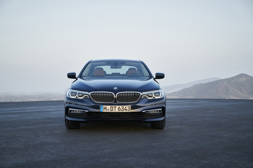 G30 BMW 5 Series unveiled – market debut in Feb 2017 Image #562963