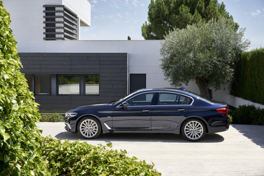 G30 BMW 5 Series unveiled – market debut in Feb 2017 Image #562965