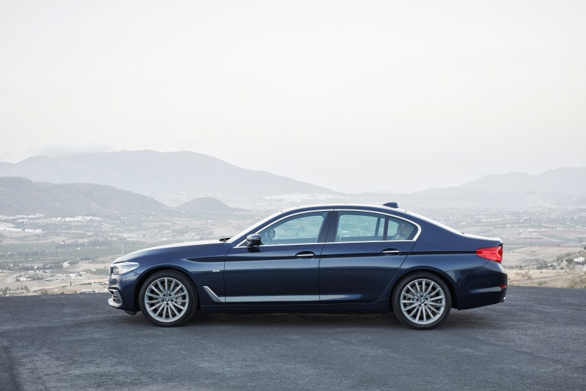 G30 BMW 5 Series unveiled – market debut in Feb 2017 Image #562966
