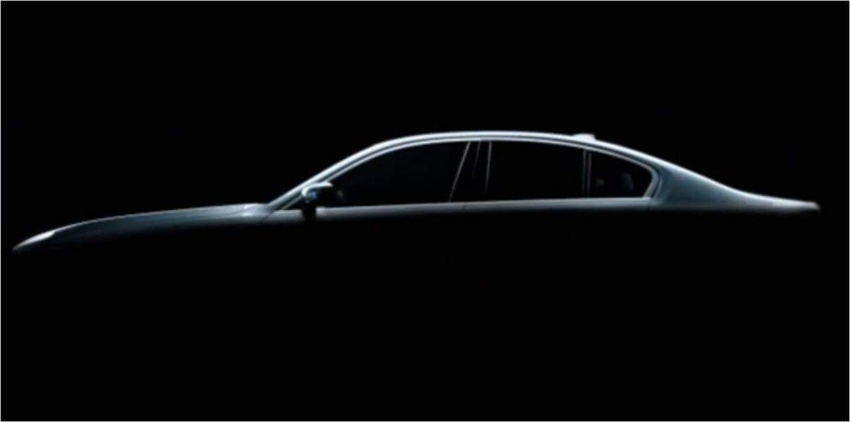 G30 BMW 5 Series teased yet again, shows rear end Image #562196