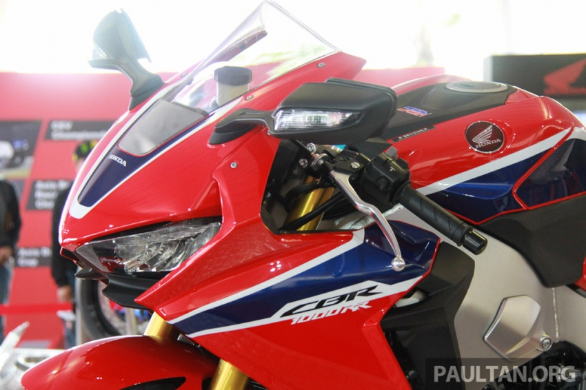 2017 Honda CBR1000RR superbike shown at Sepang Image #572136