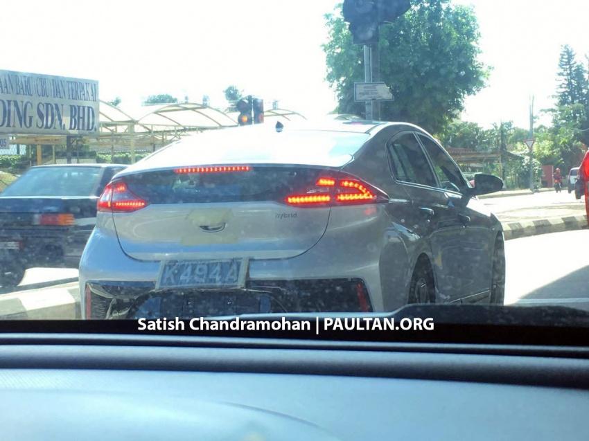 SPYSHOTS: Hyundai Ioniq hybrid in Malaysia – CKD? Image #563369