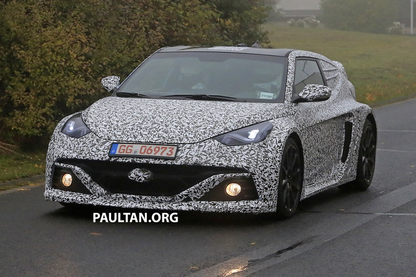 SPYSHOTS: Hyundai RM16 N Concept in the metal Image #569853
