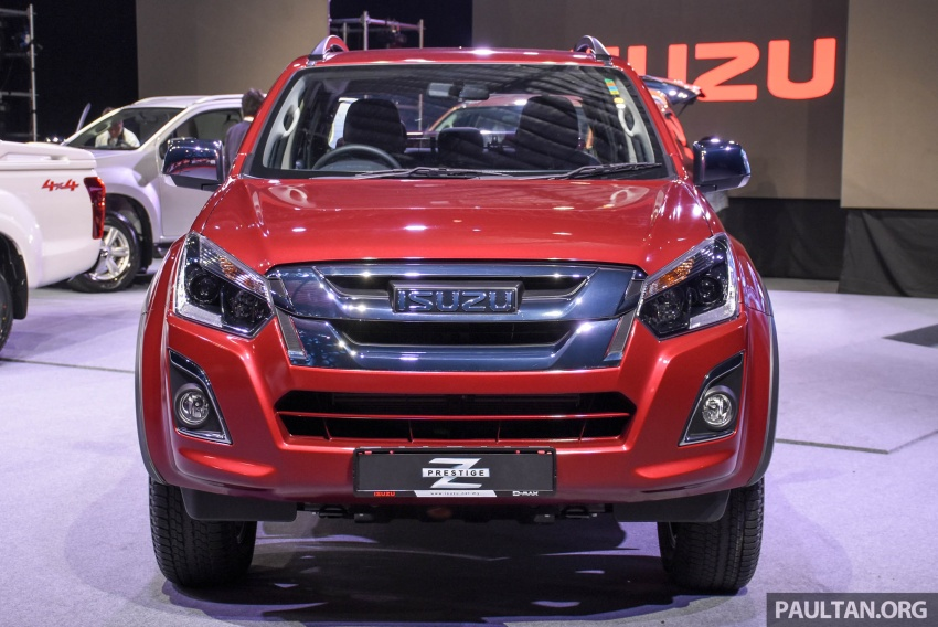 Isuzu D-Max facelift launched in Malaysia – three trim levels available, eight variants; priced from RM80k Image #568919