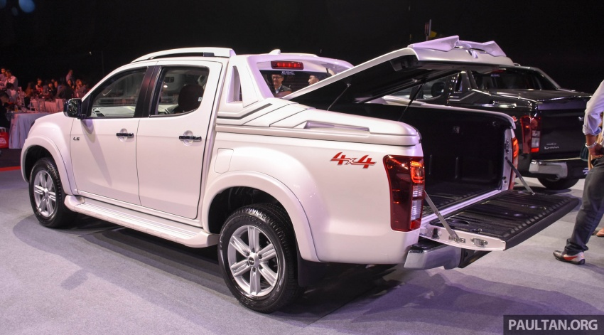 Isuzu D-Max facelift launched in Malaysia – three trim levels available, eight variants; priced from RM80k Image #568931