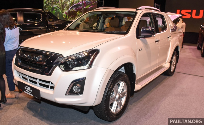 Isuzu D-Max facelift launched in Malaysia – three trim levels available, eight variants; priced from RM80k Image #568933