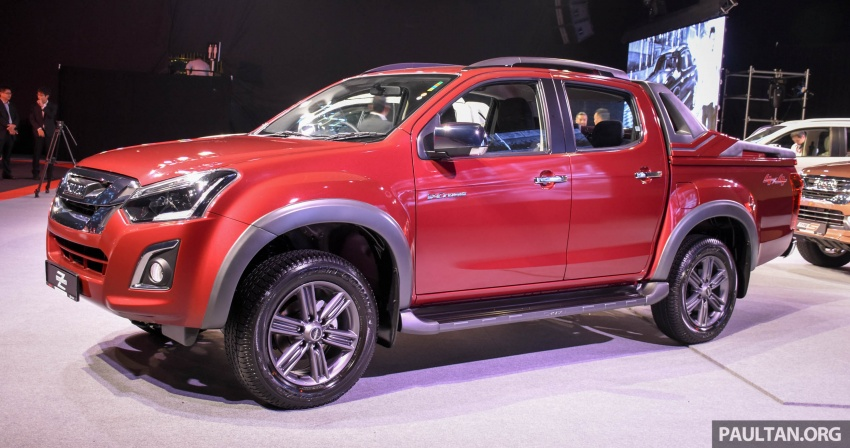 Isuzu D-Max facelift launched in Malaysia – three trim levels available, eight variants; priced from RM80k Image #568920