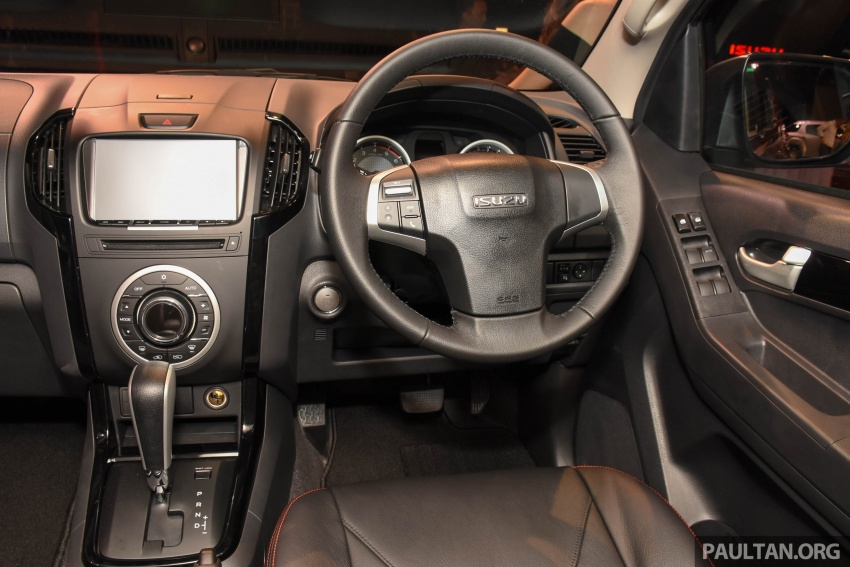 Isuzu D-Max facelift launched in Malaysia – three trim levels available, eight variants; priced from RM80k Image #568943