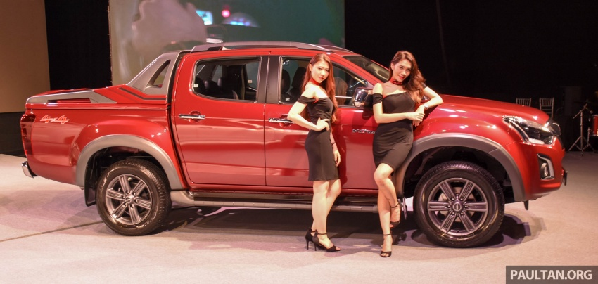 Isuzu D-Max facelift launched in Malaysia – three trim levels available, eight variants; priced from RM80k Image #568921