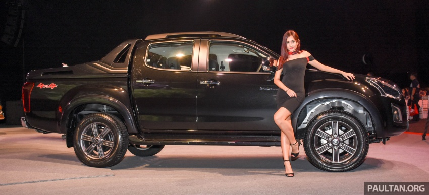 Isuzu D-Max facelift launched in Malaysia – three trim levels available, eight variants; priced from RM80k Image #568961