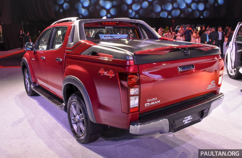 Isuzu D-Max facelift launched in Malaysia – three trim levels available, eight variants; priced from RM80k Image #568923