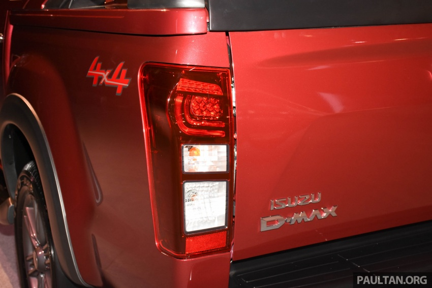Isuzu D-Max facelift launched in Malaysia – three trim levels available, eight variants; priced from RM80k Image #568926