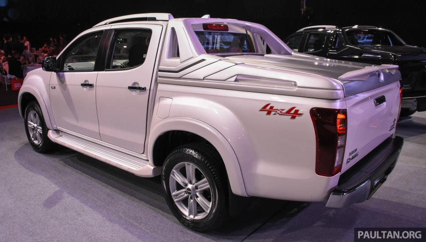 Isuzu D-Max facelift launched in Malaysia – three trim levels available, eight variants; priced from RM80k Image #568927