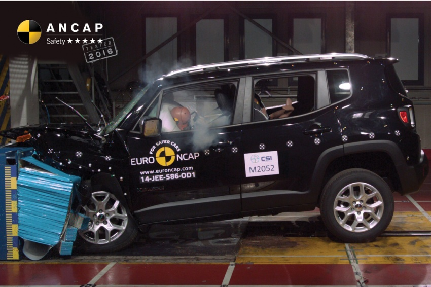 BMW X1, Jeep Renegade and Volkswagen Tiguan manage to secure five-star safety rating from ANCAP Image #559748