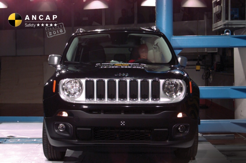 BMW X1, Jeep Renegade and Volkswagen Tiguan manage to secure five-star safety rating from ANCAP Image #559750
