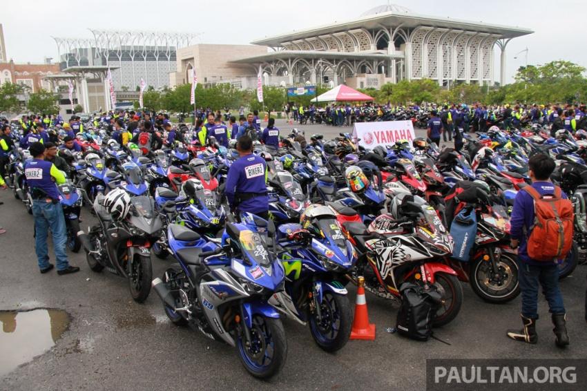 Yamaha anjur antara konvoi terbesar ke Litar Sepang – disertai hampir 800 buah m'sikal dari seluruh negara Image #572438