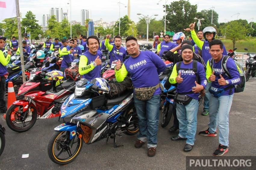 Yamaha anjur antara konvoi terbesar ke Litar Sepang – disertai hampir 800 buah m'sikal dari seluruh negara Image #572448
