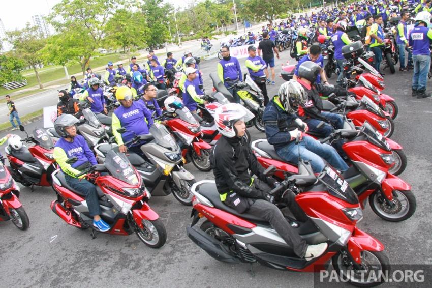 Yamaha anjur antara konvoi terbesar ke Litar Sepang – disertai hampir 800 buah m'sikal dari seluruh negara Image #572453