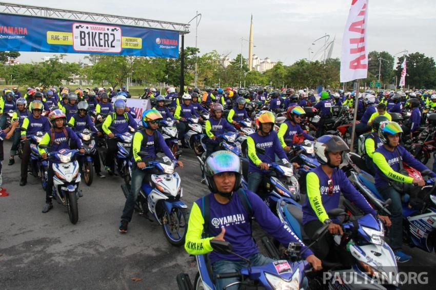 Yamaha anjur antara konvoi terbesar ke Litar Sepang – disertai hampir 800 buah m'sikal dari seluruh negara Image #572456