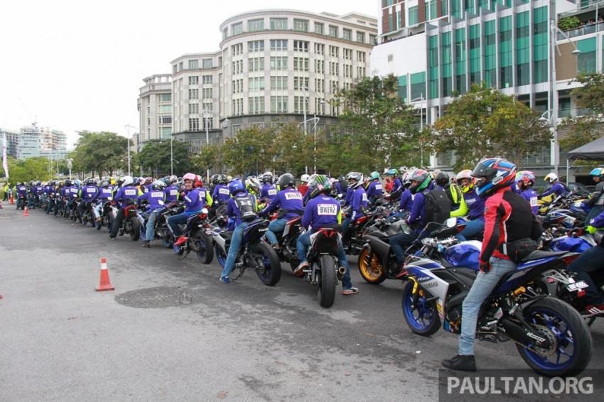 Yamaha anjur antara konvoi terbesar ke Litar Sepang – disertai hampir 800 buah m'sikal dari seluruh negara Image #572457
