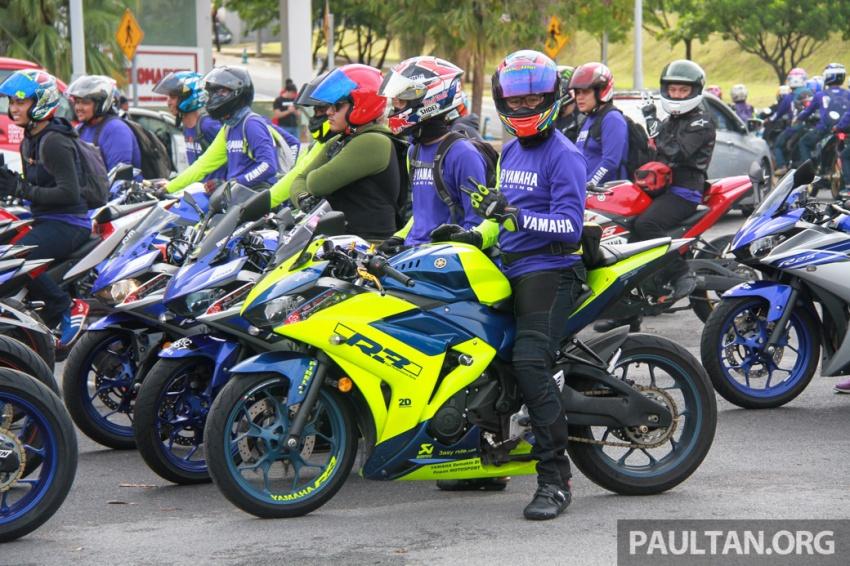 Yamaha anjur antara konvoi terbesar ke Litar Sepang – disertai hampir 800 buah m'sikal dari seluruh negara Image #572458