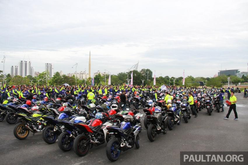 Yamaha anjur antara konvoi terbesar ke Litar Sepang – disertai hampir 800 buah m'sikal dari seluruh negara Image #572444