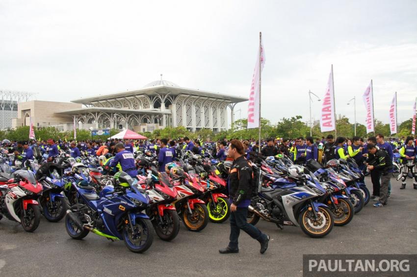 Yamaha anjur antara konvoi terbesar ke Litar Sepang – disertai hampir 800 buah m'sikal dari seluruh negara Image #572445