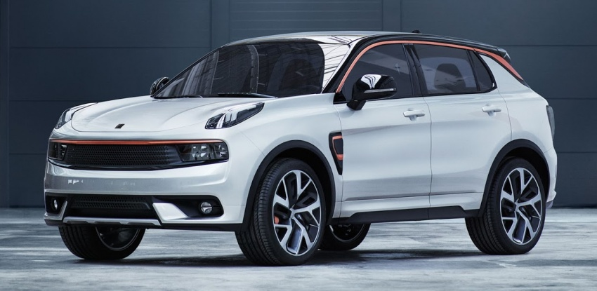 Lynk & Co 01 SUV from Geely's new 'hipster' brand Image #565979