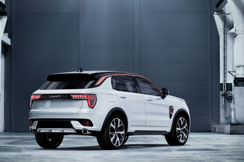 Lynk & Co 01 SUV from Geely's new 'hipster' brand Image #565981