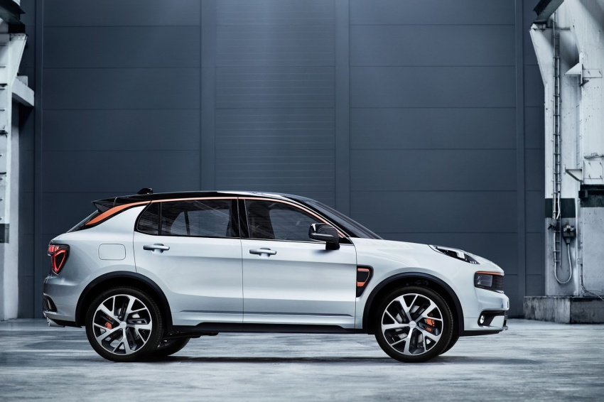 Lynk & Co 01 SUV from Geely's new 'hipster' brand Image #565985
