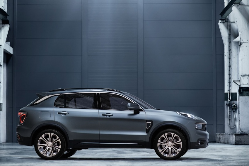Lynk & Co 01 SUV from Geely's new 'hipster' brand Image #565991