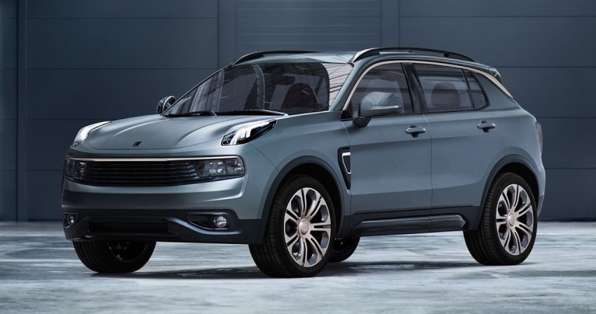 Lynk & Co 01 SUV from Geely's new 'hipster' brand Image #565992