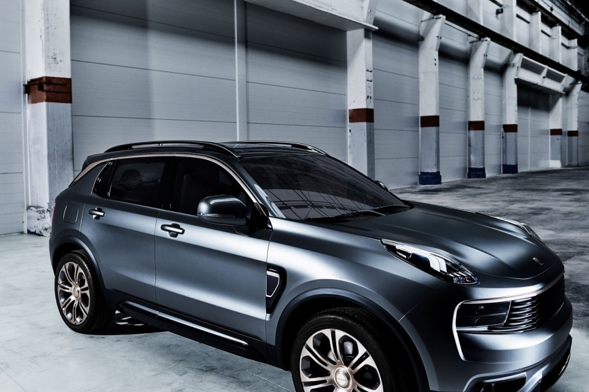 Lynk & Co 01 SUV from Geely's new 'hipster' brand Image #565993