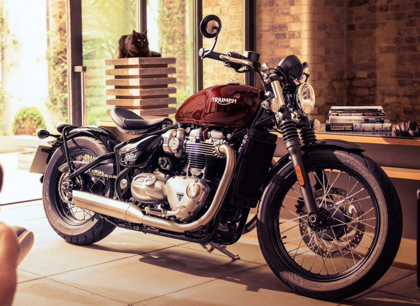 2017 Triumph Bonneville Bobber launched in UK Image #565804