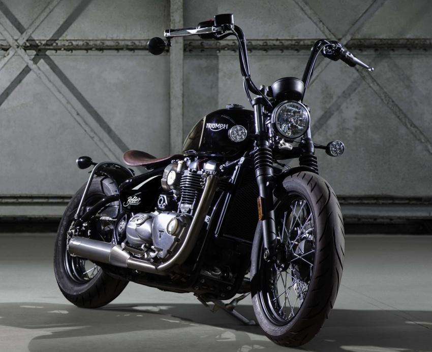 2017 triumph bonneville bobber launched in uk image 565806. Black Bedroom Furniture Sets. Home Design Ideas