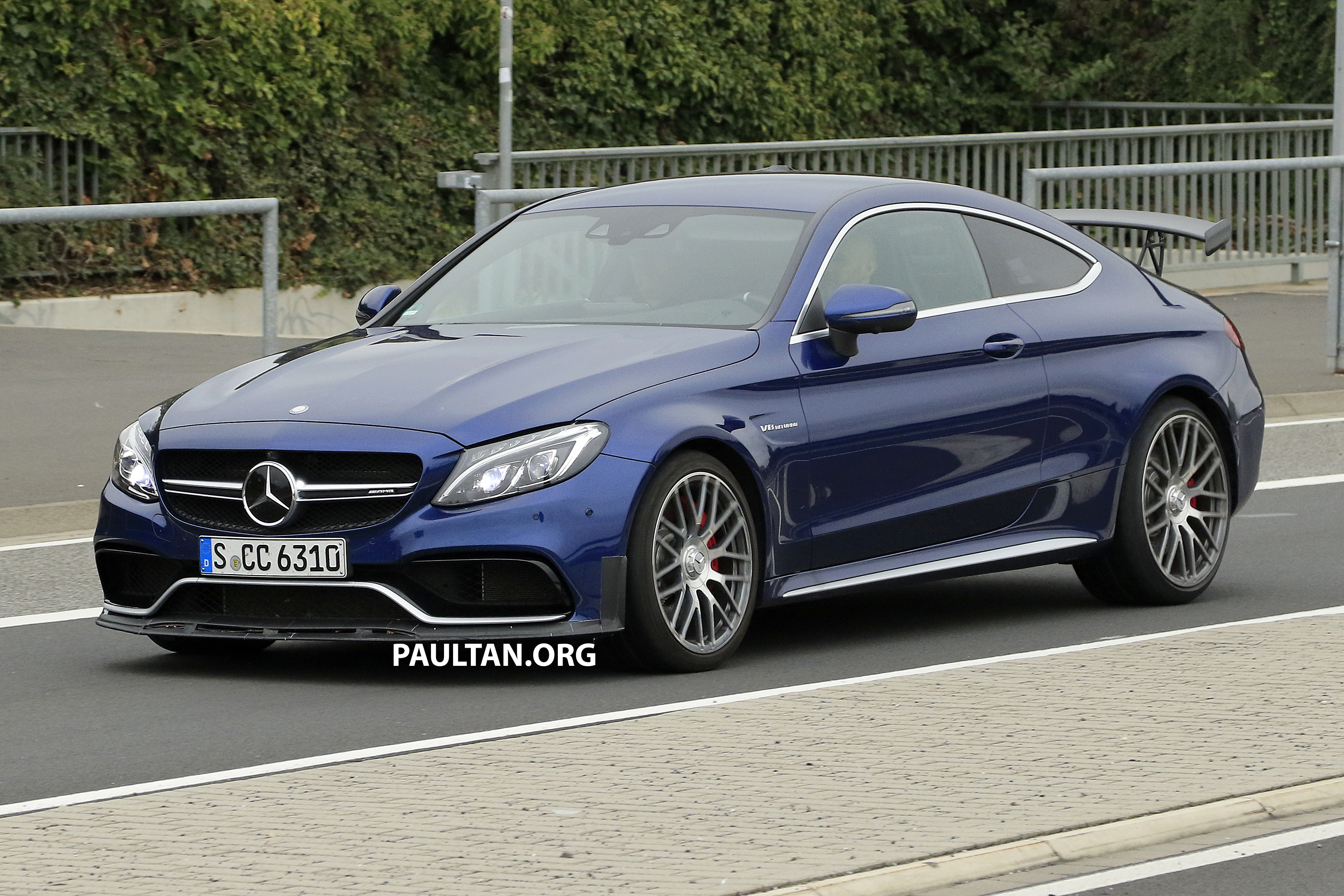 Mercedes C Coupe >> SPYSHOTS: Mercedes-AMG C63 R Coupe spotted Image 561800