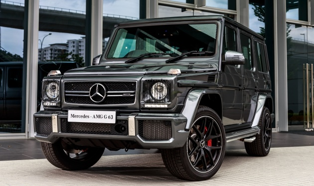 mercedes benz g class facelift launched in malaysia. Black Bedroom Furniture Sets. Home Design Ideas