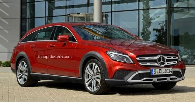Mercedes Cls Shooting Brake All Terrain Rendered