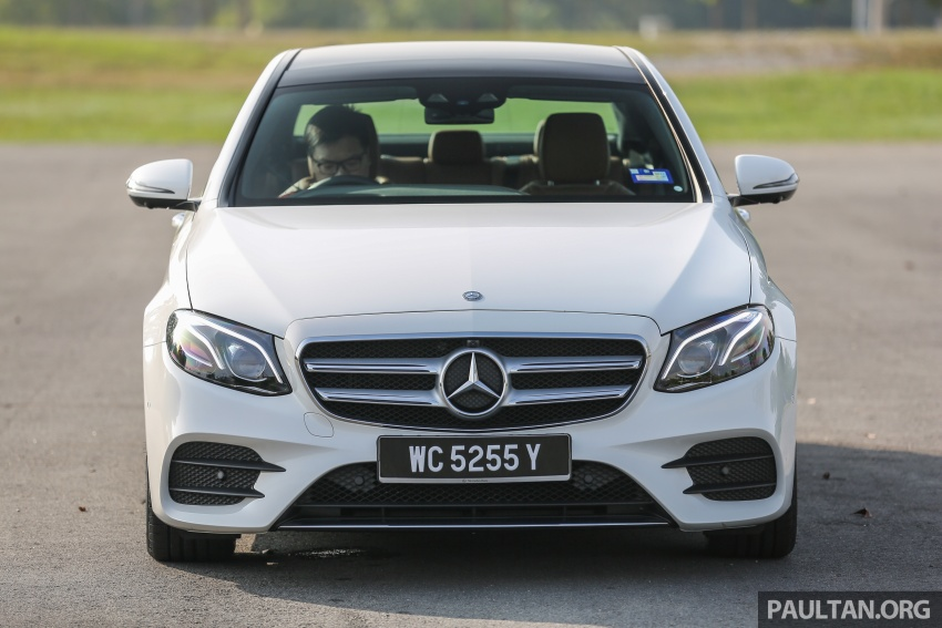 DRIVEN: W213 Mercedes-Benz E200 – exec stakes Image #566294