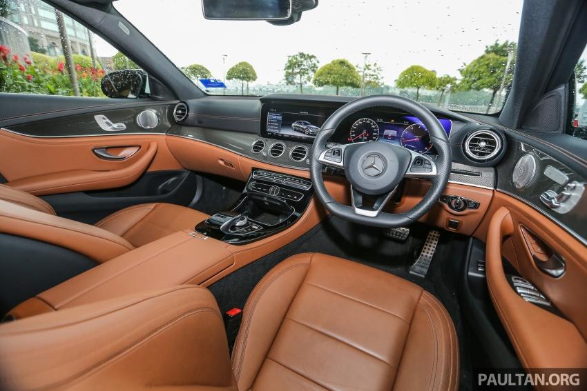DRIVEN: W213 Mercedes-Benz E200 – exec stakes Image #566434