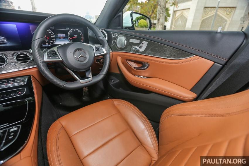 DRIVEN: W213 Mercedes-Benz E200 – exec stakes Image #566448