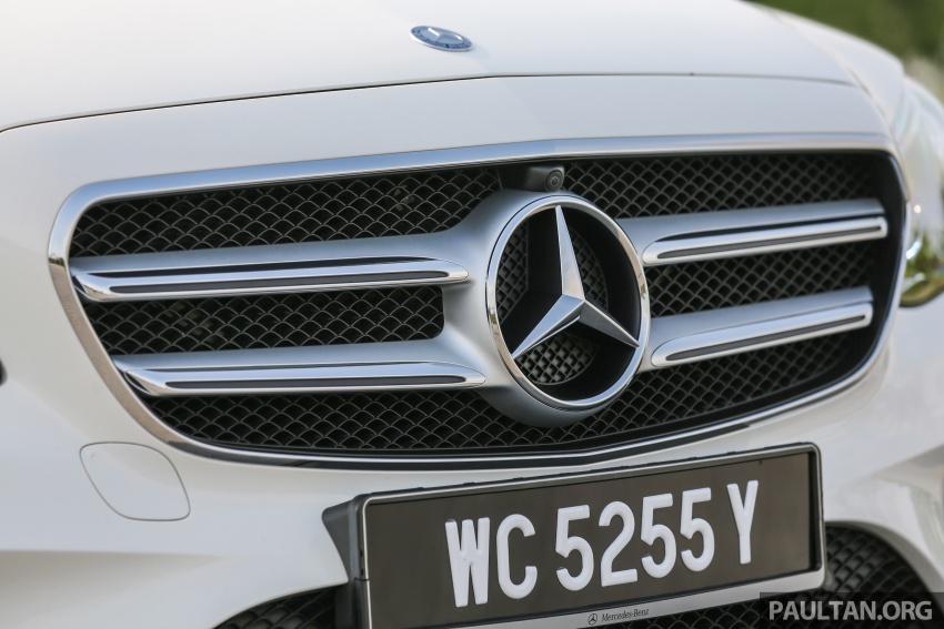 DRIVEN: W213 Mercedes-Benz E200 – exec stakes Image #566307