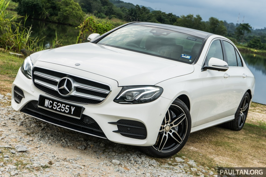 DRIVEN: W213 Mercedes-Benz E200 – exec stakes Image #566702