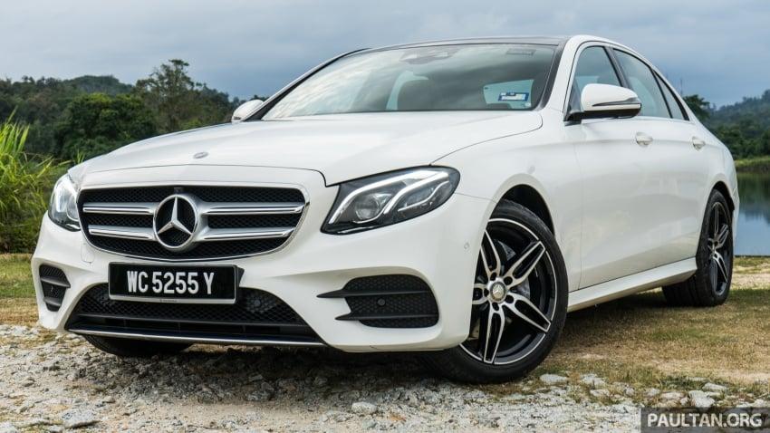 DRIVEN: W213 Mercedes-Benz E200 – exec stakes Image #566703
