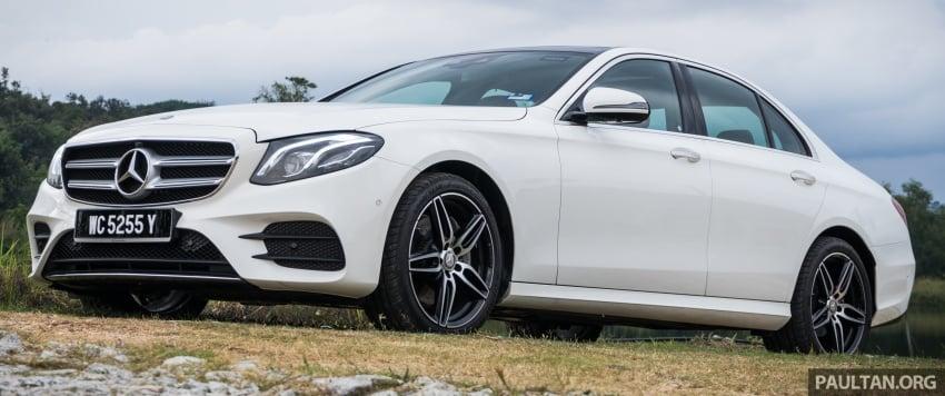 DRIVEN: W213 Mercedes-Benz E200 – exec stakes Image #566704