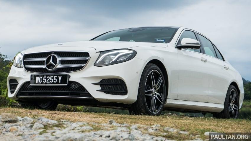 DRIVEN: W213 Mercedes-Benz E200 – exec stakes Image #566705