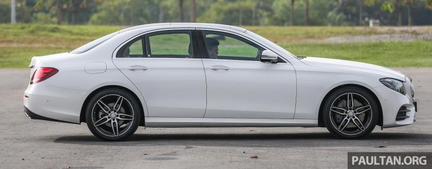 DRIVEN: W213 Mercedes-Benz E200 – exec stakes Image #566309